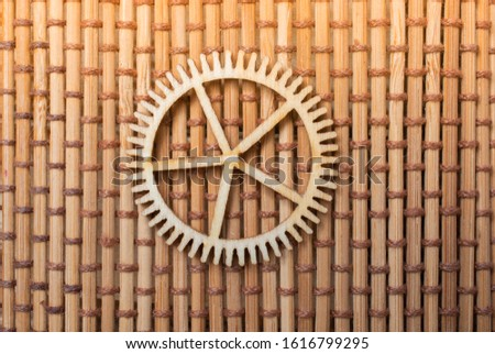 Gear wheel as The concept of mechanism and engineering