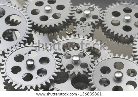 Gears Interlocked