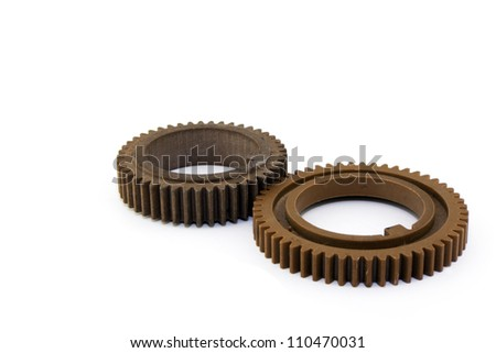 gears isolated on a white background