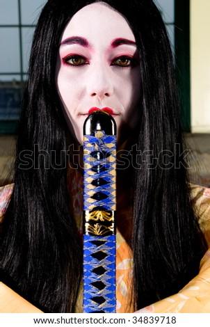 geisha face makeup. geisha face makeup. makeup