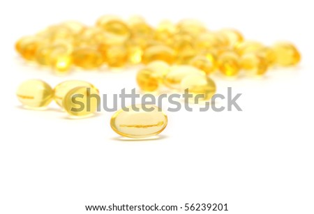 Gelatinous capsules with the cod-liver oil-omega3