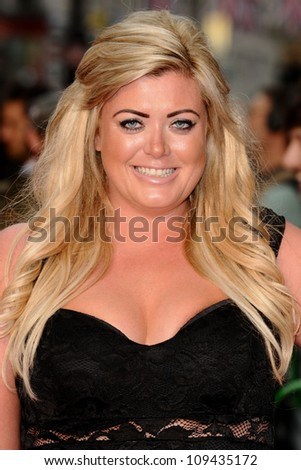 Gemma Collins arriving for the 'Katy Perry, Part Of Me 3D' premiere, at Empire Leicester Square, London. 03/07/2012 Picture by: Steve Vas / Featureflash
