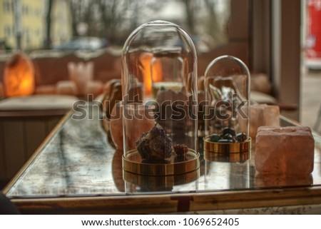gems amethyst rock crystal in...