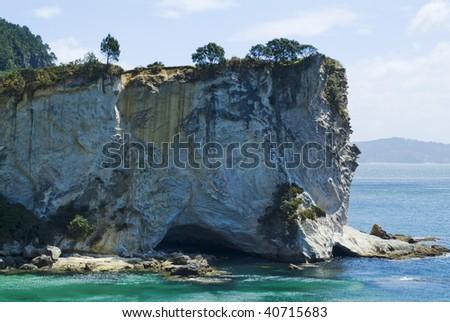 gemstone bay coromandel new zealand limestone stock