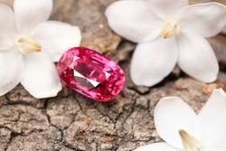 Gemstone Red Ruby Beauty Shot