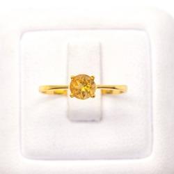 Gemstone ring 9k gold hand made Thailand
