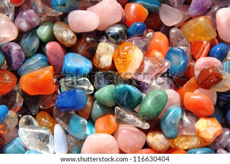 gemstones background
