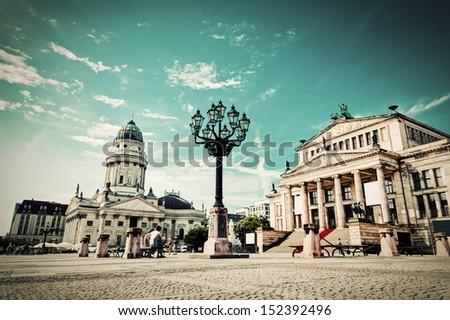 gendarmenmarkt in berlin ...