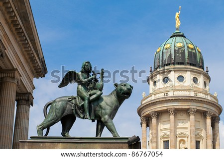 Gendarmenmarkt square, Berlin - stock photo