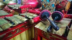 Gender - Gamelan, Tranditional javanese music instrument.