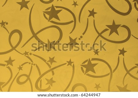 General design of orange Seamless pattern with star and line No copyright because it is my own design
