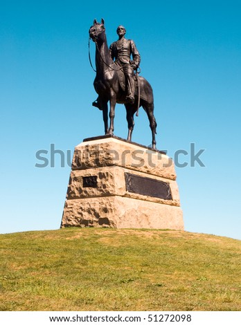 General George G. Meade monument statue