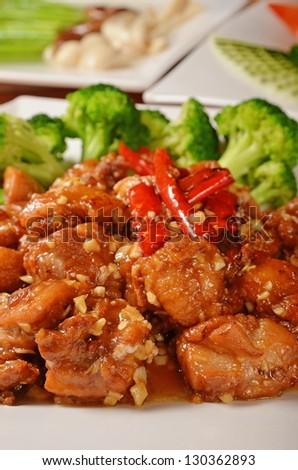 General Tso\'s chicken  - A Popular Taiwan food