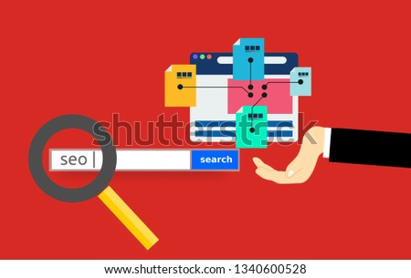 generating sitemap Illustration