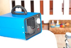 generator converter disinfectant ozone inside a home. covid 19