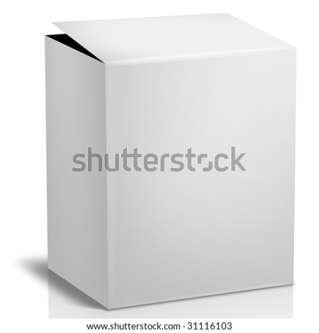 Generic Box  of items for sale at retail