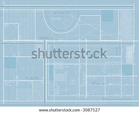 Generic building blueprints design