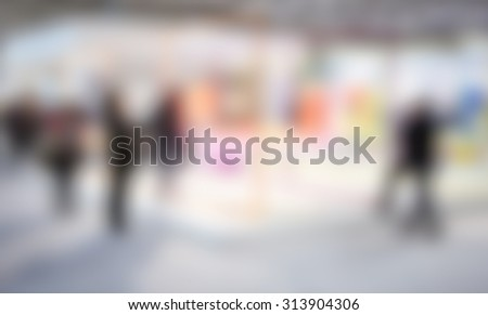 Generic event, intentionally blurred post production background.