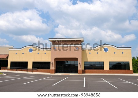 Generic New Commercial Building with Retail and Office Space Available