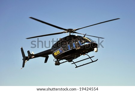generic police search and rescue  helicopter