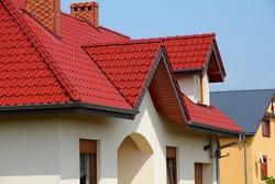 Generic residential building in Opolskie voivodeship (region) of Poland. Housing in Europe.