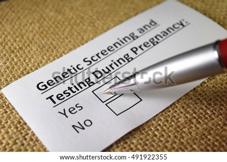 Genetic screening and testing during pregnancy