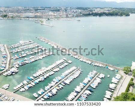 Geneva from above #1107533420