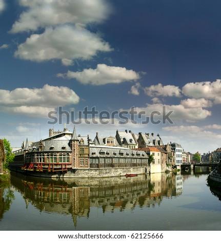 Gent's canals, Belgium