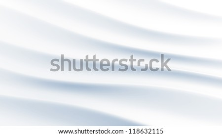 gentle white blue waves as background