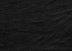 Genuine black leather texture background. Natural leather cattle skin material.