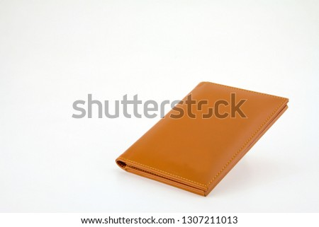 Genuine leather Bill Folder for collect money