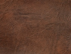 Genuine leather texture natural pattern. Brown Color