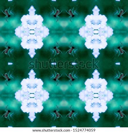 Geo Motifs Template. Mexican Artisan Design. Ethnic Geo Pattern. Seamless Blue Modern Wall Decoration. Boho Ogee Pattern. Dyed Batik Style. Mexican Artisan Design.