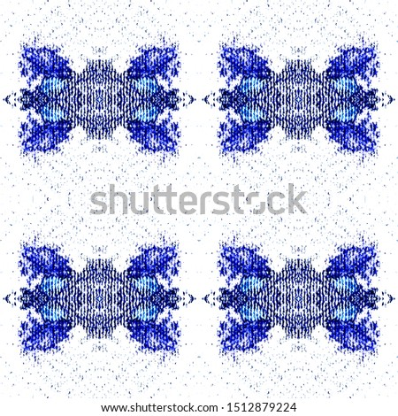 Geo Motifs Template. Mexican Artisan Design. Ethnic Textile Motifs. Seamless Winter Modern Wall Decoration. Delicate Woven Texture. Tie Dye Pattern. Mexican Artisan Design.
