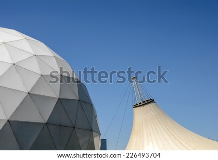 Geodesic dome & tensile structure #226493704