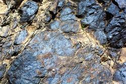 Geological deposits of ore. Industrial mining.