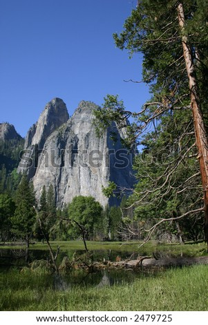 Geological Formations - Yosemite National Park
