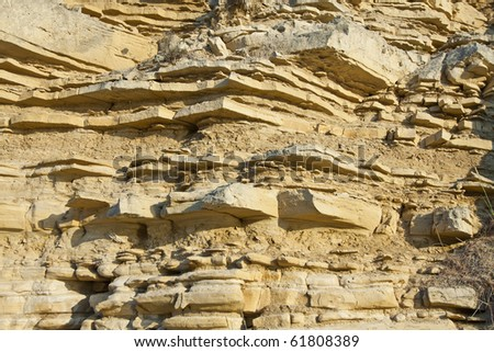 geological layers of earth