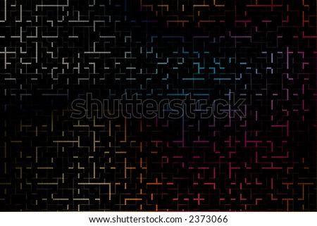 geometric abstract design for webpage or other graphic or artistic piece.