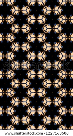 Geometric backdrop template F H 1015