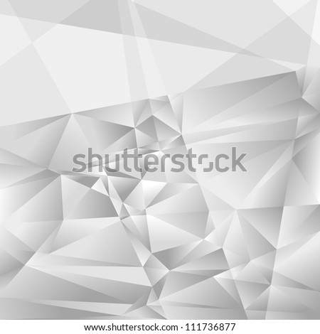 geometric background - futuristic pattern with many brilliant triangles
