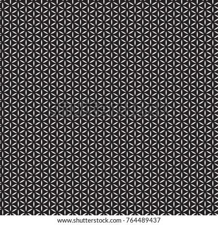 geometric black and white pattern #764489437