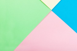 Geometric Colorful Paper Background