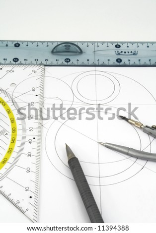 geometric drawings and drawing instruments