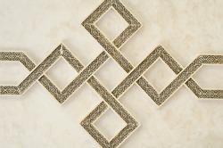 Geometric Moroccan Architecture Engrave Details