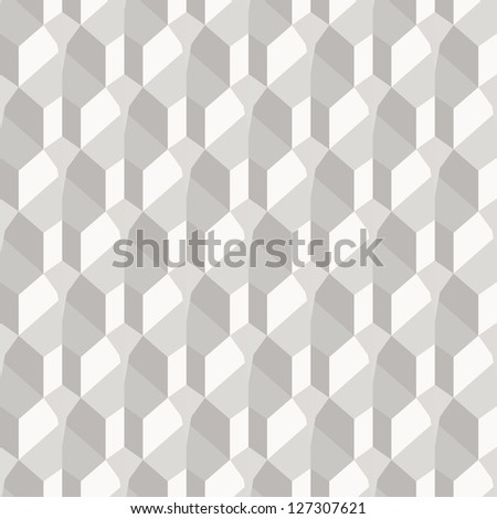 Geometric paper background, seamless pattern. Vector version available in my portfolio - stock photo