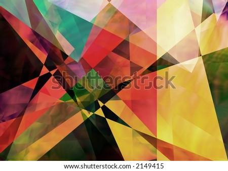 Geometric paperlike background