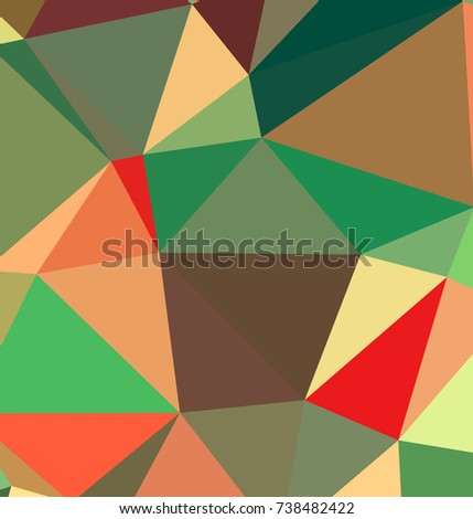 Geometric Pattern.Broken geometric shapes. Abstract colored texture of geometric shapes. Beautiful geometric pattern design