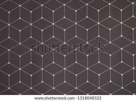 Geometric pattern on color background. Modern design