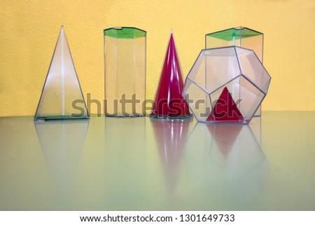 geometric volumes or geometric figures #1301649733